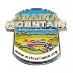 Arabia Mountain Soft Enamel Pin