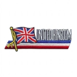 United Kincdom Flag Patches