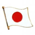 Japans Flag Pin