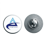 Printed Round Metal Badge