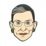 Ruth Bader Pinsburg Pin