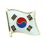 South Korea Single Flag Pin