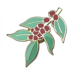 Leaves and Beeries Pin