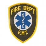 Fire Department Emblem Patches
