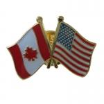 Canada & USA Friendship Pin