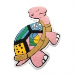 Tortoise Chenille Patches
