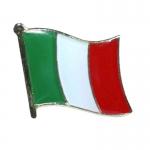 Italian Flag Lapel Pin