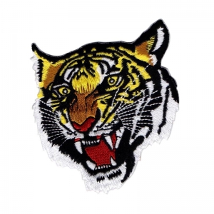 Tiger Iron On Patches