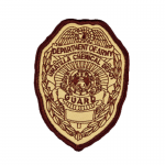 Guard Embroidery Patch