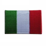 Italian Flag Patches